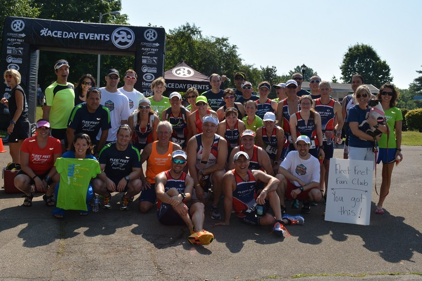 Fleet Feet Sports at the Foothills Sprint Triathlon