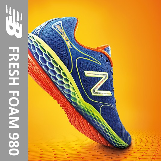 new balance fresh foam 980 running shoe