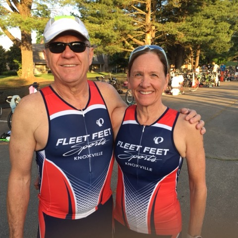 Bill and MaryJane ready to TRI!